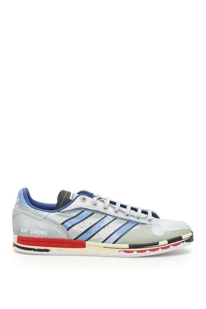 Adidas By Raf Simons Unisex Rs Micro Stan Sneakers in blue / red