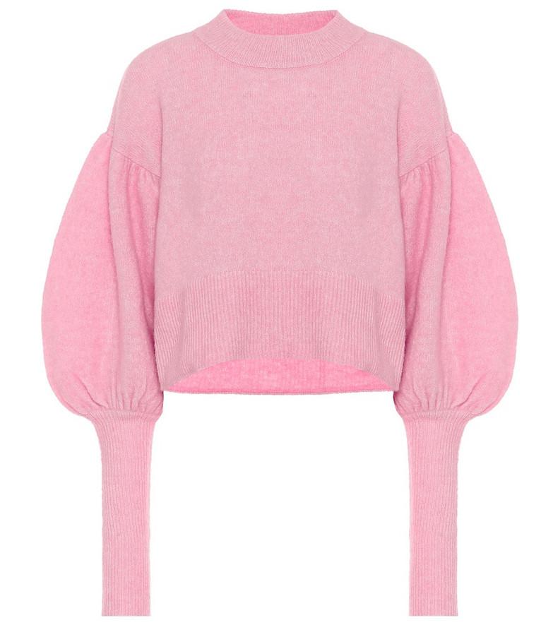 Baum und Pferdgarten Coline cropped sweater in pink