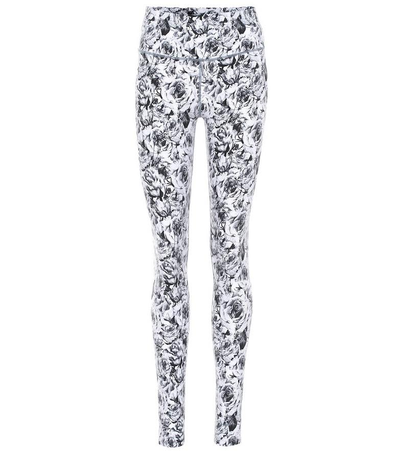 Varley Duncan floral leggings in white
