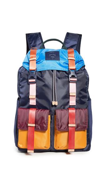 Tory Sport Ripstop Nylon Backpack in navy