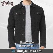 coat,movie,venom,celebrity,tom hardy,cotton jacket,fashion,outfit,style,mens  fashion,lifestyle,menswear,men's outfit