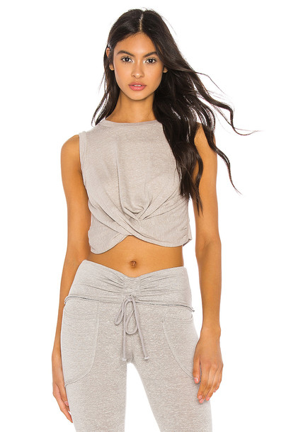Free People Movement Undertow Tank in gray