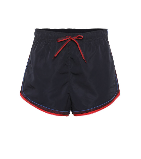 The Upside Retro Derby shorts in blue