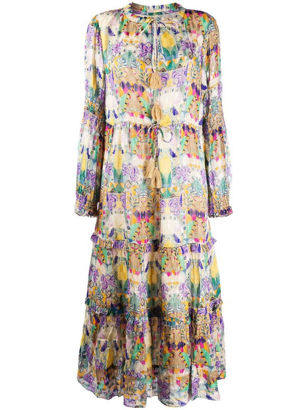 Chufy Inka printed dress in neutrals
