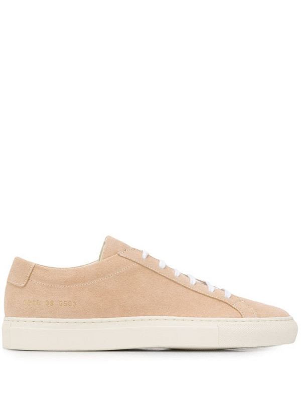 Common Projects Original Achilles suede sneakers in neutrals
