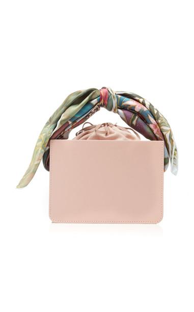 Montunas Guaria Mini Leather Bag in pink