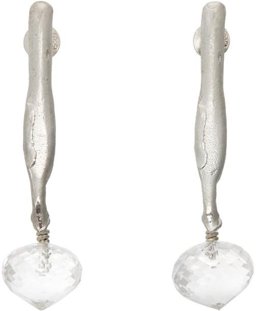 Alighieri Silver 'The Cosmic Evidence' Earrings