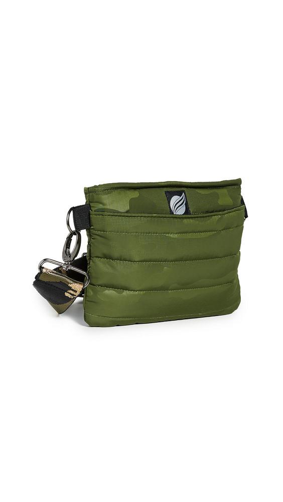Think Royln Convertible Belt Crossbody Bag in metallic
