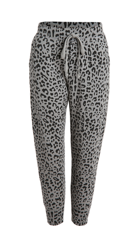 Nili Lotan Nolan Pants in grey / leopard