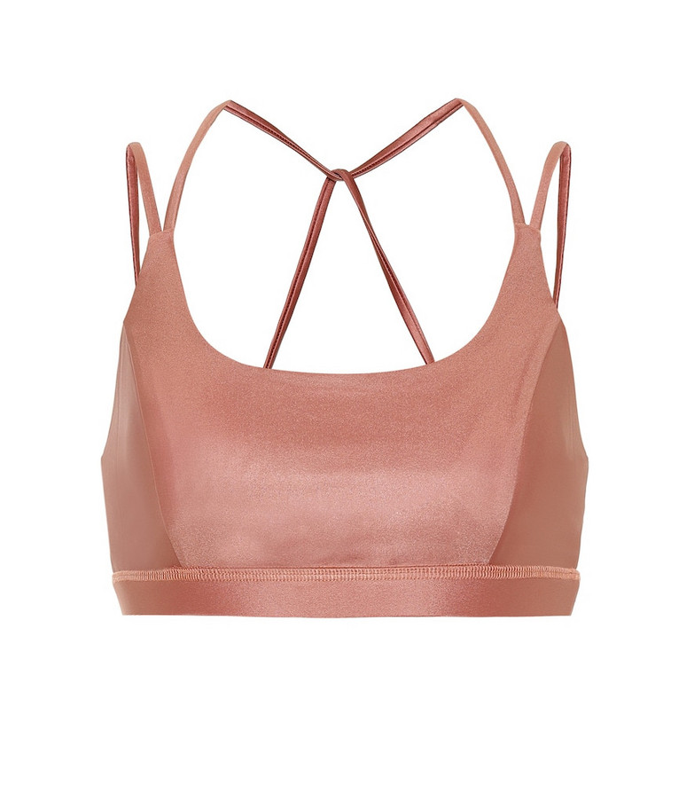 Lanston Sport Exert sports bra in pink