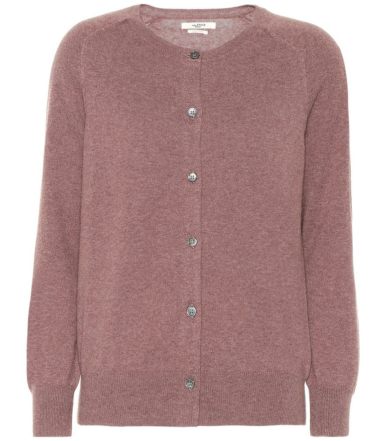 Isabel Marant, Étoile Napoli cotton and wool cardigan in purple