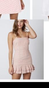 dress,blush,short,spaghetti strap,short dress,spaghetti straps dress