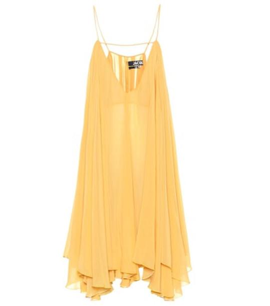 Jacquemus La Petite Robe Bellezza minidress in orange