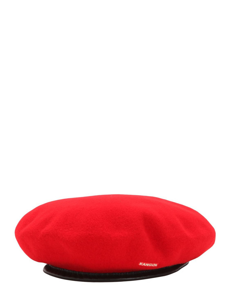KANGOL Monty Wool Beret in red