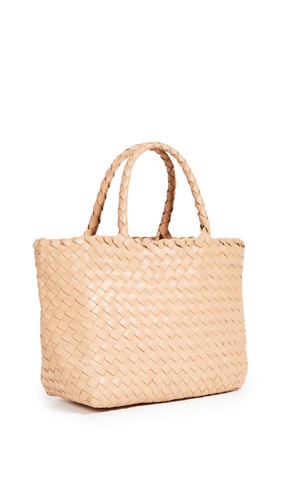 DRAGON DIFFUSION Mini Lunch Basket Bag in natural