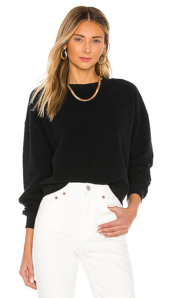 ANINE BING Reed Sweatshirt in Black