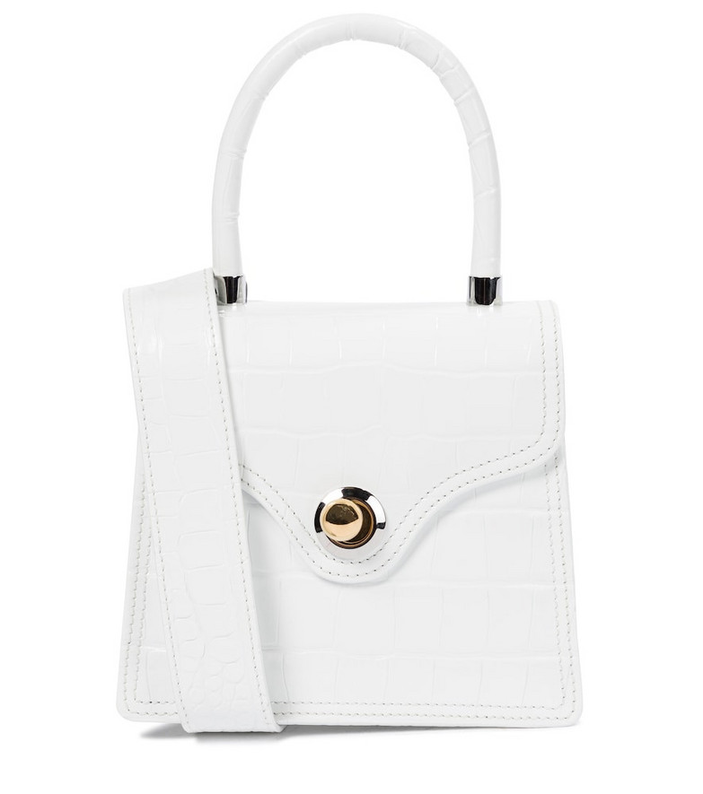 Ratio et Motus Exclusive to Mytheresa – Lady 15 croc-effect tote in white