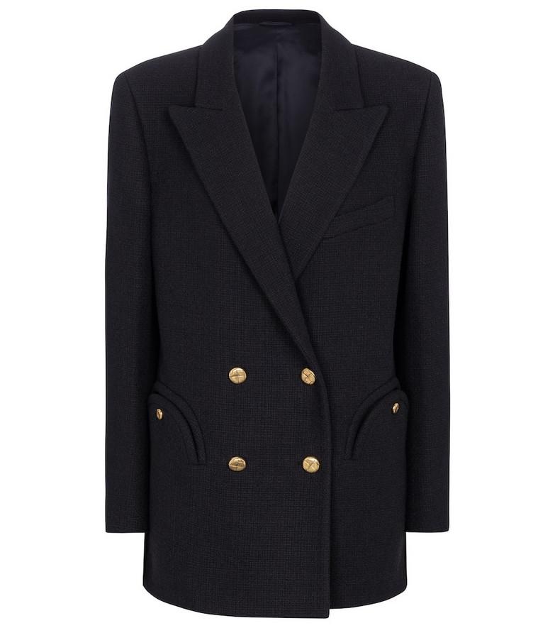Blazé Milano Missy Everynight bouclé blazer in black