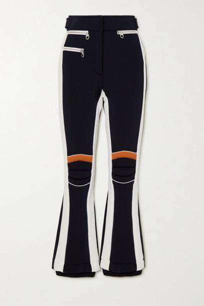 Chloé Chloé - Fusalp Paneled Bootcut Ski Pants - Navy