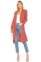 coat,trench coat,rose