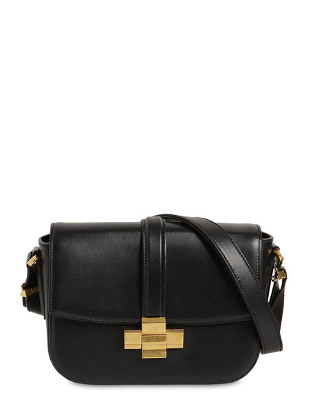 N°21 Lolita Leather Shoulder Bag in black
