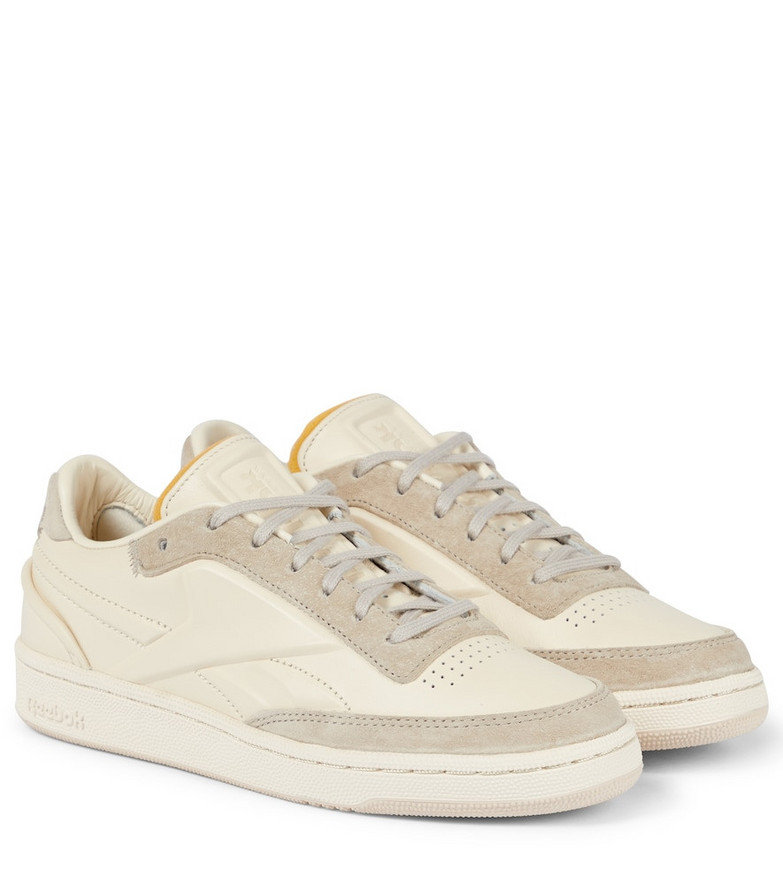 Reebok x Victoria Beckham Club C leather sneakers in white