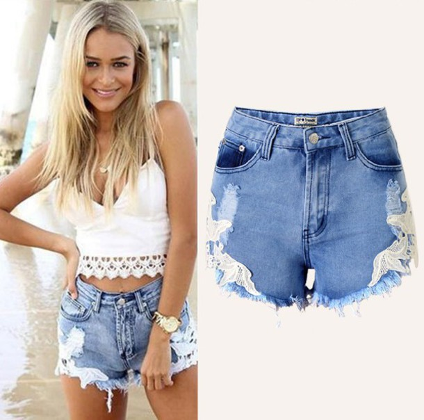 shorts chiclook closet denim cute outfits casual summer boho chic style