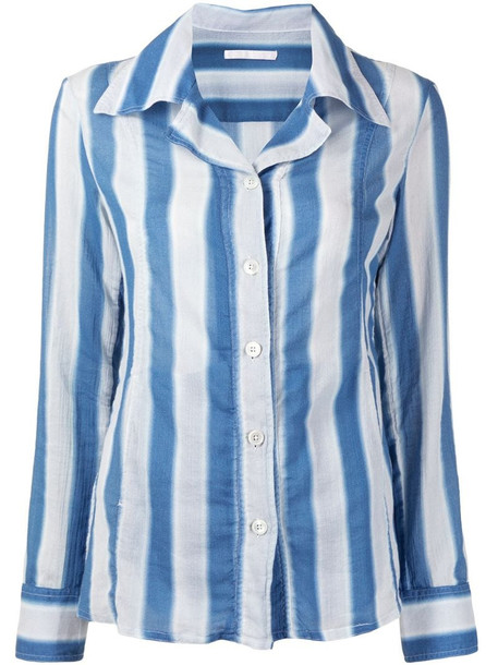 Our Legacy vertical striped shirt in blue
