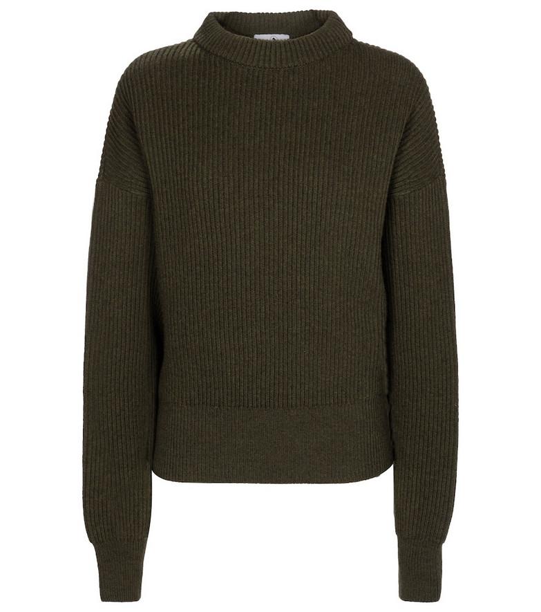 Cordova Megève merino wool sweater in green