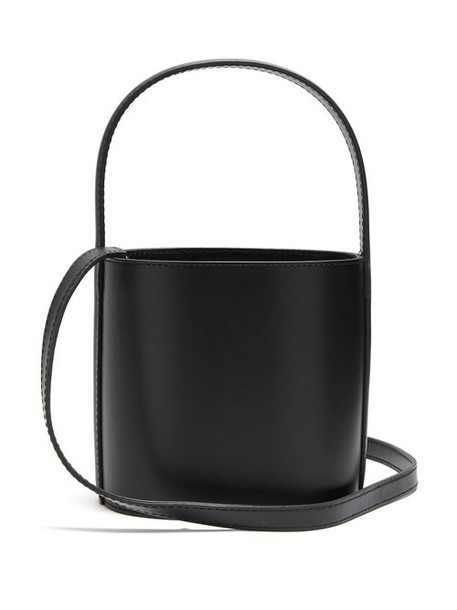 Staud - Bissett Leather Bucket Bag - Womens - Black