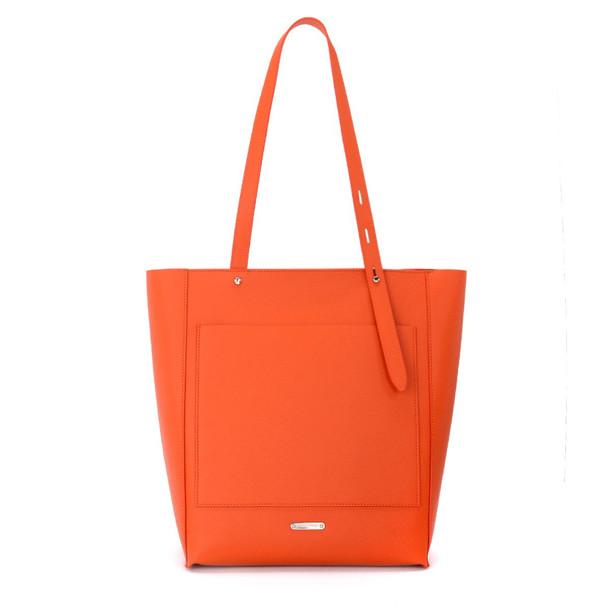 Rebecca Minkoff North South Star Red Leather Shoulder Bag