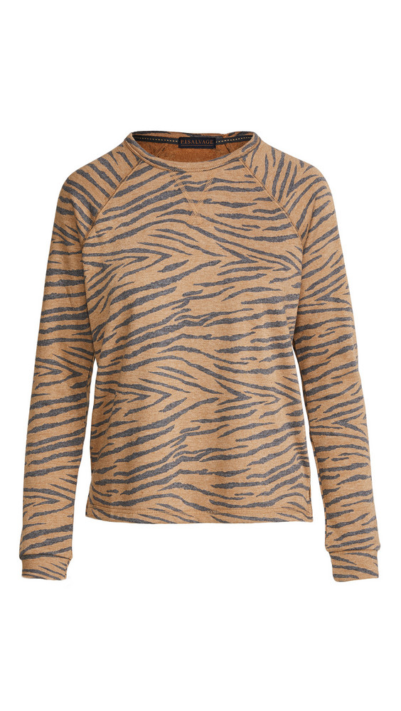 PJ Salvage Wild One Pullover in camel