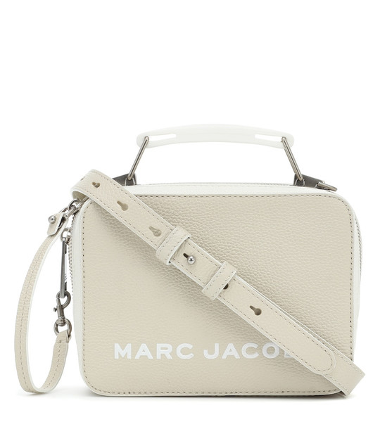 Marc Jacobs The Tricolor Textured Mini Box Bag in beige