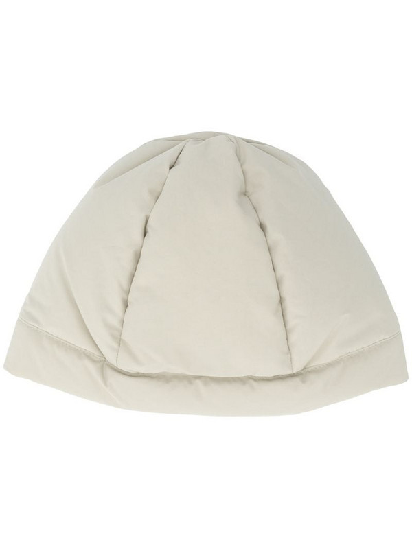 Jil Sander six-panel construction padded beanie in green