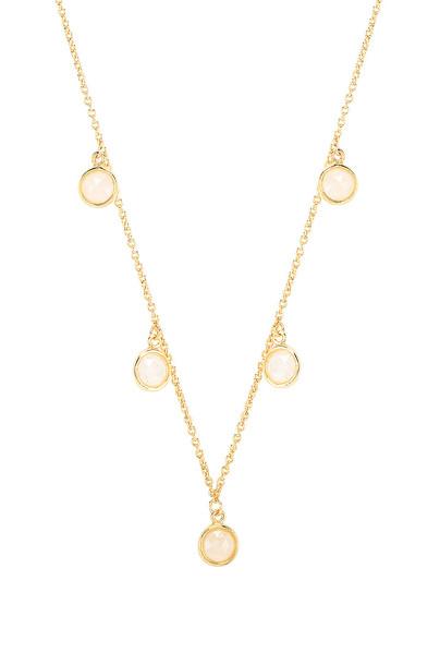 gorjana Olivia Necklace in gold / metallic