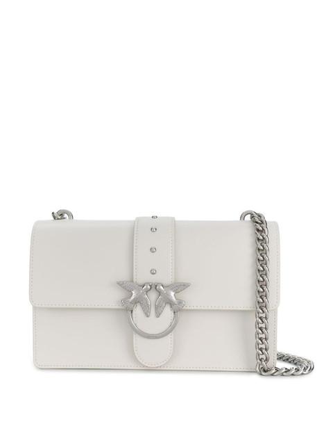 Pinko Love shoulder bag in white