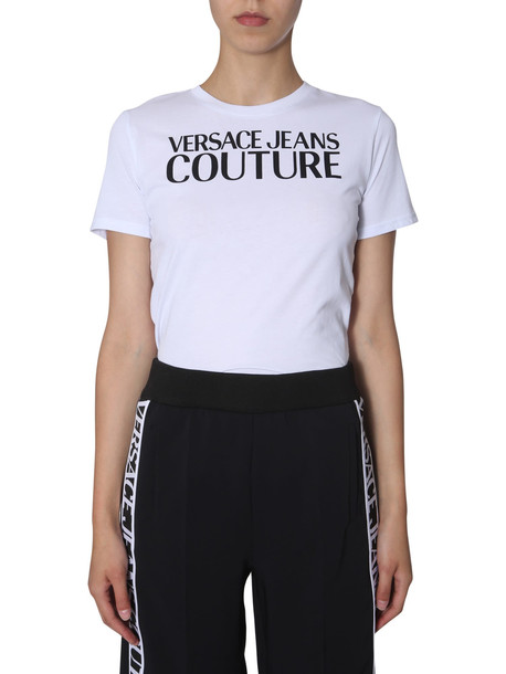 Versace Jeans Couture T-shirt With Logo Print