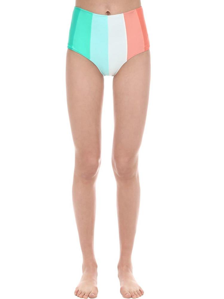 PAPER LONDON Sunshine High Waist Bikini Bottoms