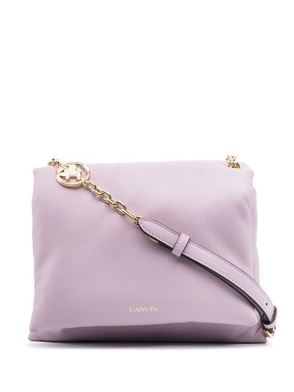 LANVIN Sugar Bag shoulder bag in purple