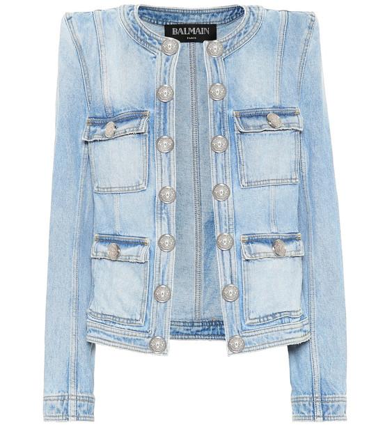 Balmain Denim jacket in blue