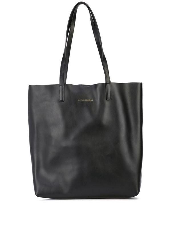 WANT Les Essentiels Logan shopper tote in black