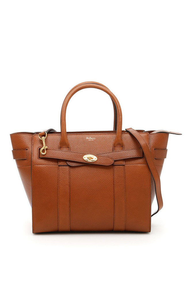 Mulberry Zipped Bayswater Small Bag in brown
