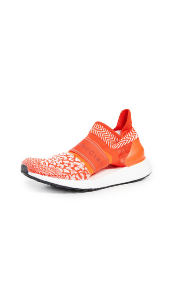 adidas by Stella McCartney UltraBOOST X 3D Sneakers in orange / white