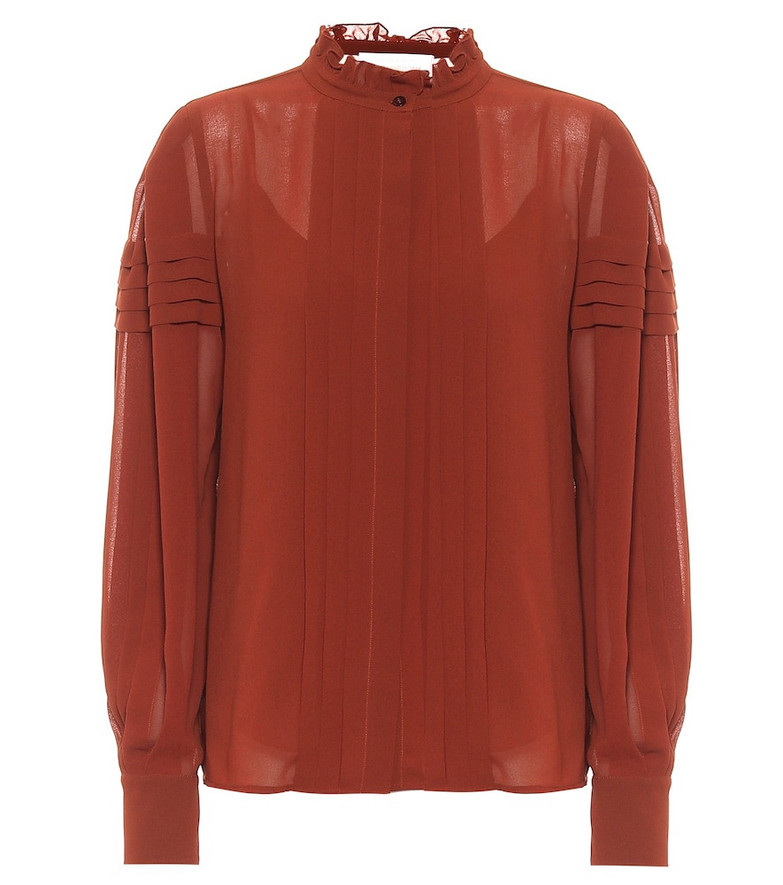 See By Chloé Georgette blouse in brown