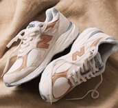 shoes,beige shoes,tumblr,new balance,beige