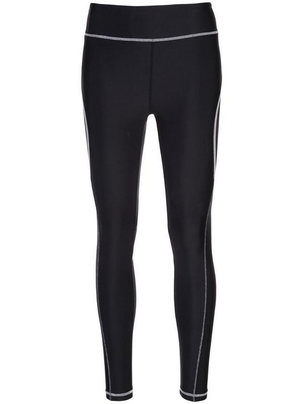 ALALA stitch detail leggings in black