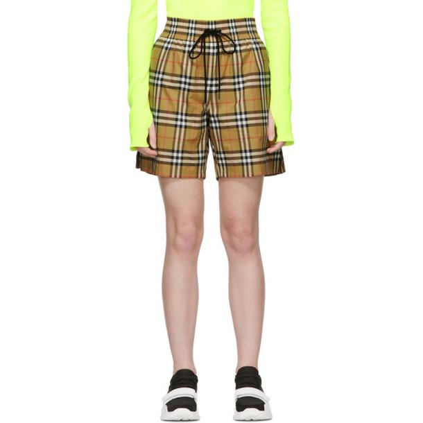 Burberry Beige Dovemoore Shorts