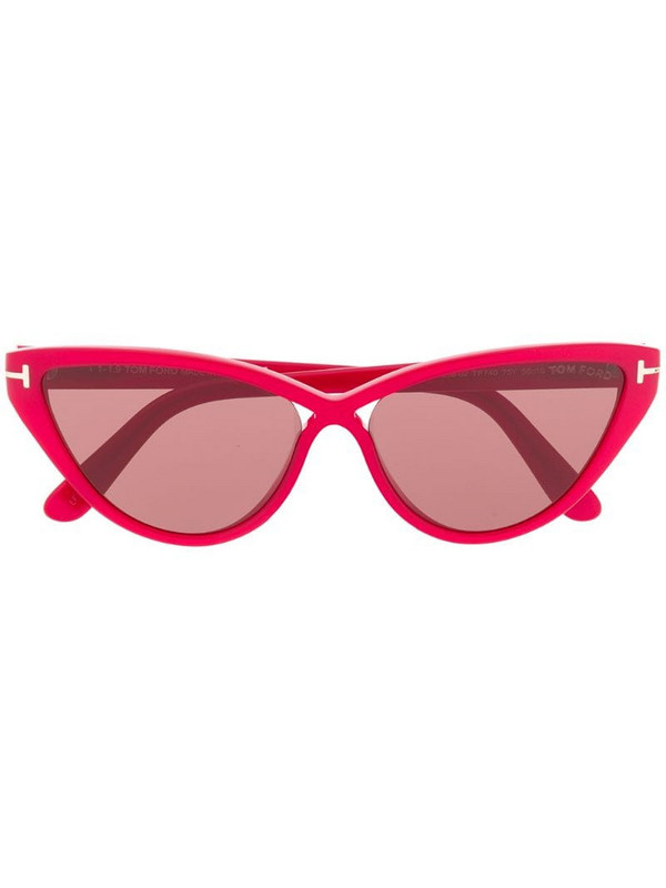 Tom Ford Eyewear FT0740 cat-eye sunglasses in pink