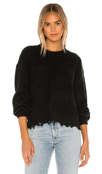 Lovers + Friends Lovers + Friends Dusk Crew Sweater in Black