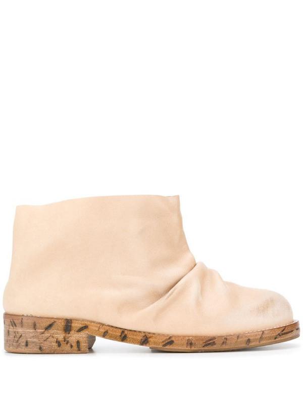Natasha Zinko ankle boots in neutrals